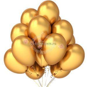 Золотое облако шаров