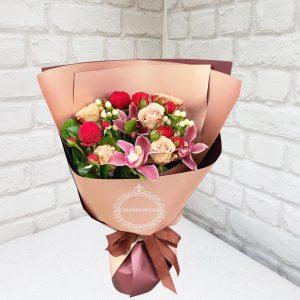Пудровая роза купить в Москве