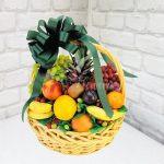 фруктовая корзину радуга
