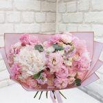 """Букет цветов """"В розовых тонах"""""""