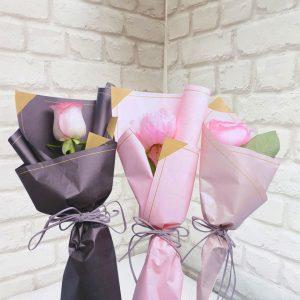 Роза в упаковке 1