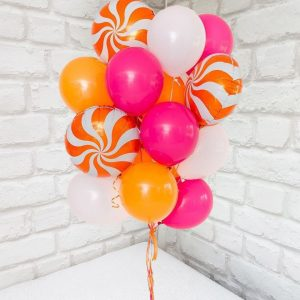 11 оранжевых шаров