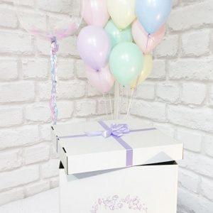 Коробка воздушных шаров