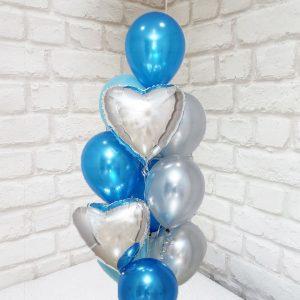 """Воздушные шары """"Любовь и Небо"""""""